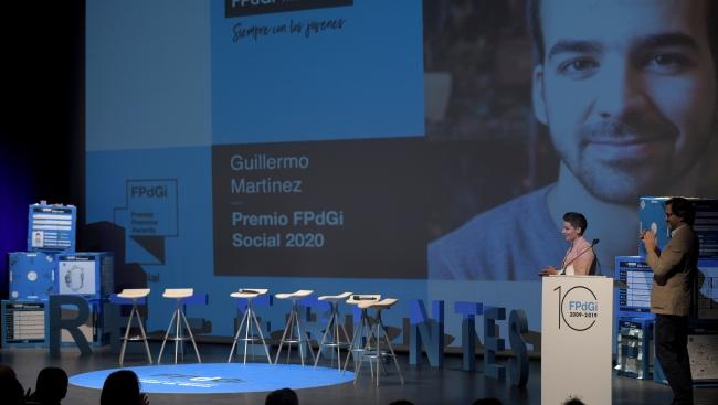 Technology innovator Guillermo Martínez, 2020FPdGi Social Award