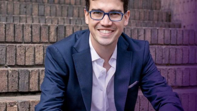 Colombian social entrepreneur Juan David Aristizábal, 2021 International Award